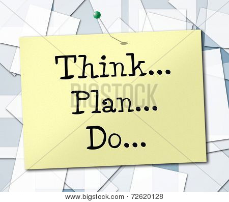 Do Think Means Game Plan And About