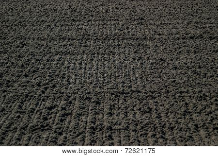 Dirt Background at Horse Track