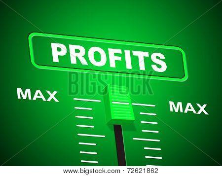 Profits Max Shows Upper Limit And Top