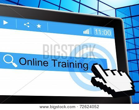 Online Training Shows World Wide Web And College