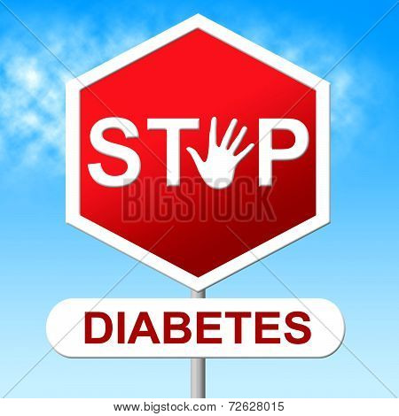 Diabetes Stop Represents Warning Sign And Control