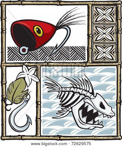 Tiki fishing