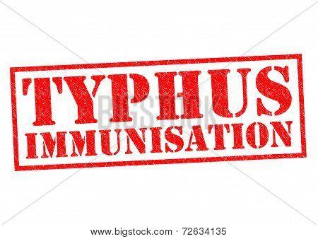 Typhus Immunisation