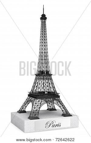 3D Eiffel Tower Statue