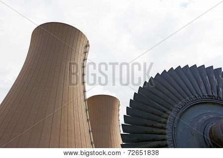 Steam Turbine Against Nuclear Power Plant