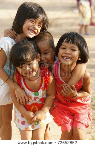 Pretty, Lovely Face, Asian Children