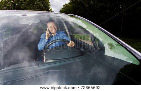 Driver And Cellphone