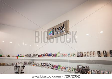 I-total Stand At Homi, Home International Show In Milan, Italy
