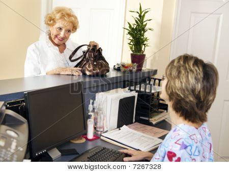 Patient Checks Out