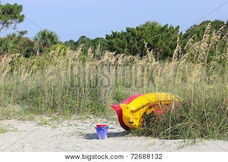 Beach Toys Ready & Waiting