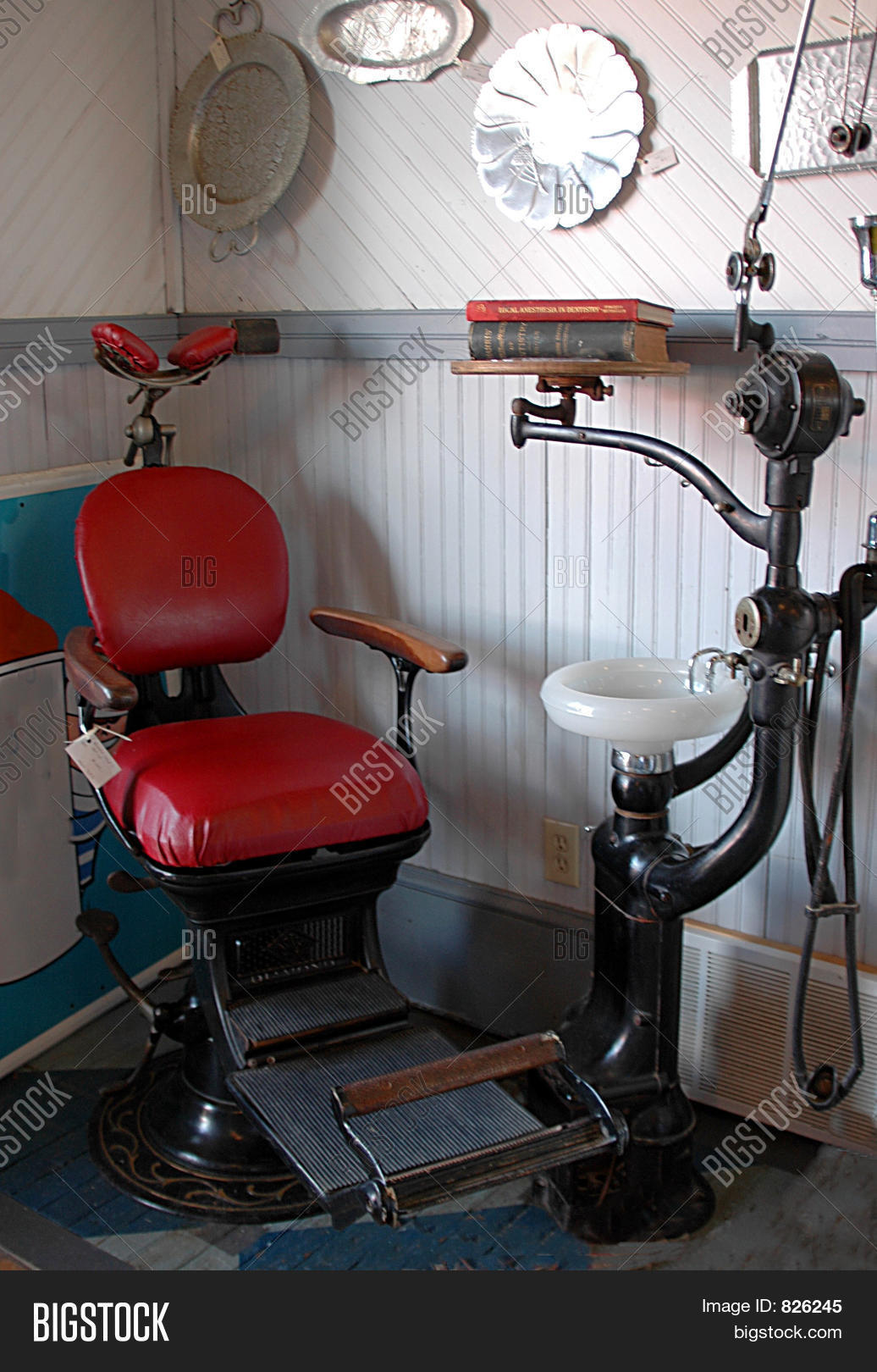 Antique Dental Chair Image Amp Photo Free Trial Bigstock