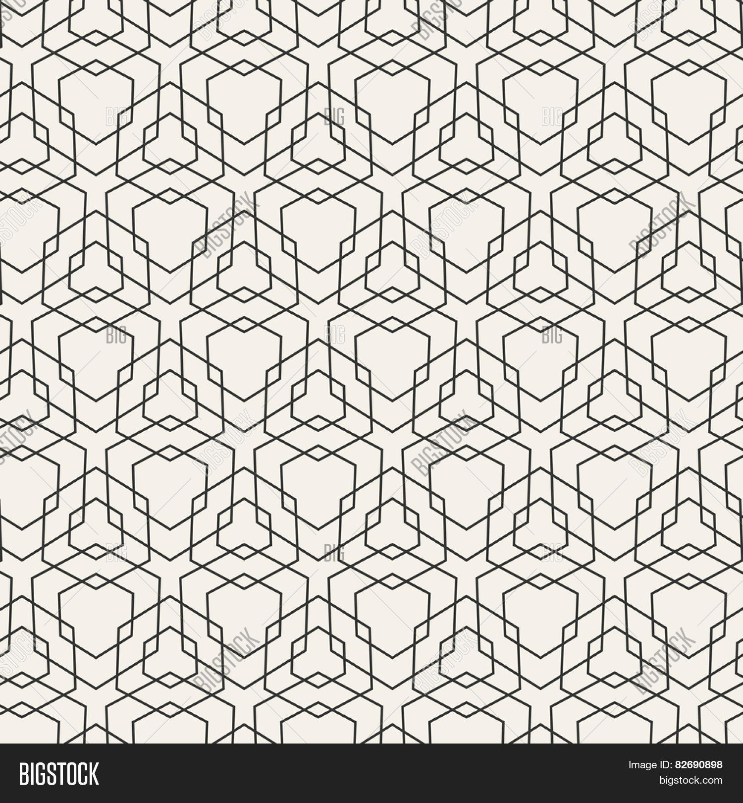 Black And White Geometric Patterns And Designs