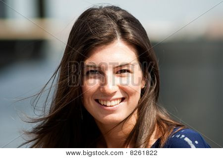 Smilling Girl Portrait