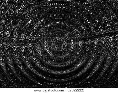 Electromagnetism like ripple abstract