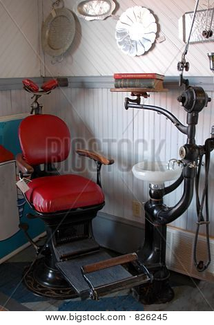 Antique Dental Chair