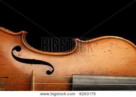 Violin Close-up