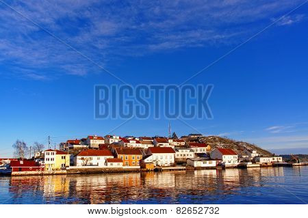 Island Harbor Area And Summer Houses