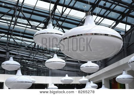 Lots Of Big Ceiling Lamps