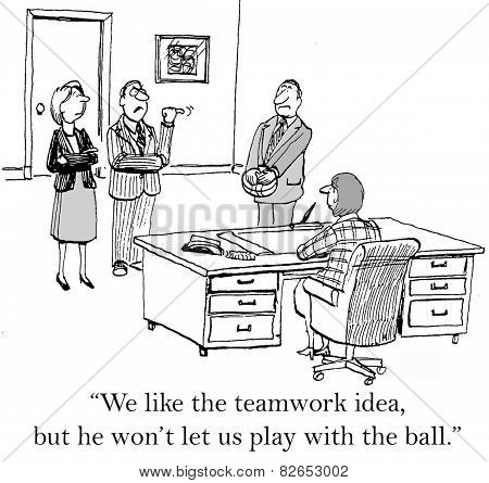 Teamwork - Play With Ball