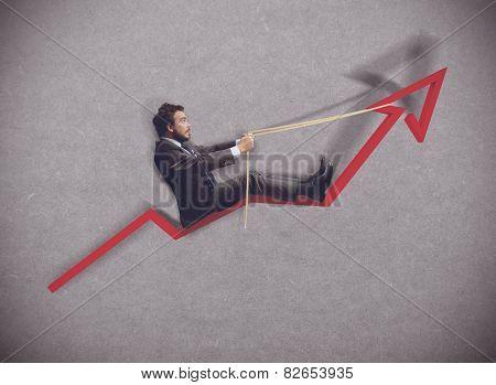 Increase of economy