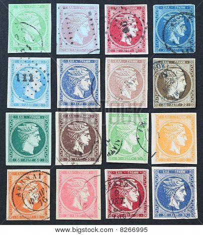 Hermes stamps