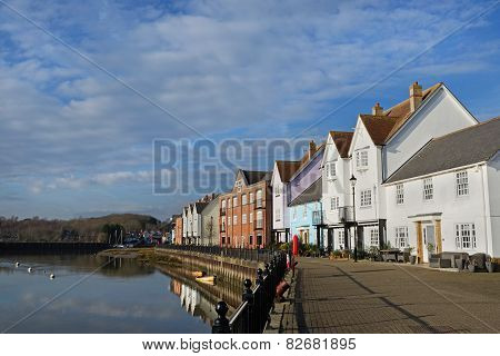 Waterfront Houses, Wivenhoe,essex,uk