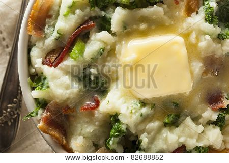 Homemade Irish Potato Colcannon