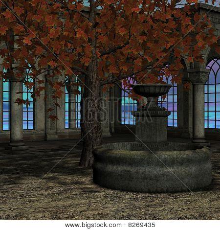 magic window in a fantasy