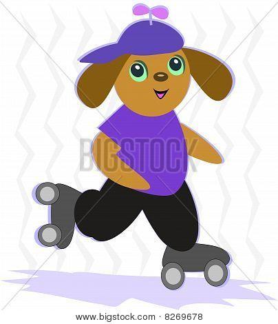Dog Skating