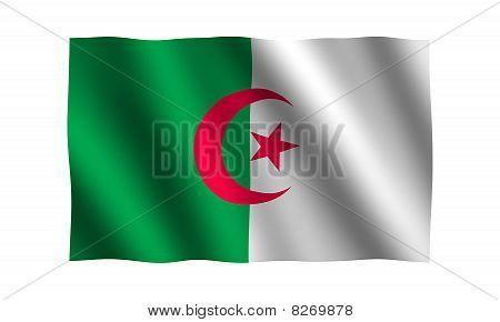 Algeria 3D Flag