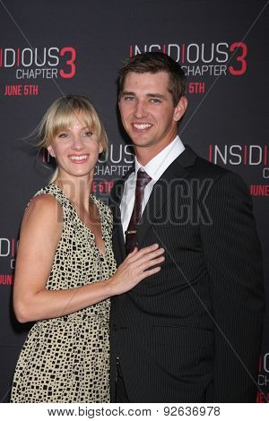 LOS ANGELES - JUN 4:  Heather Morris, Taylor Hubbell at the