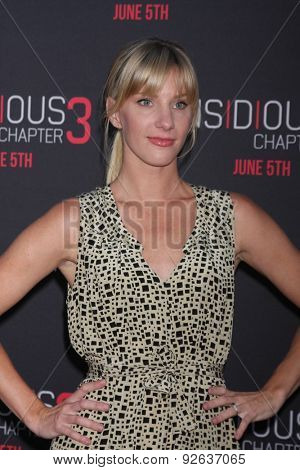 LOS ANGELES - JUN 4:  Heather Morris at the