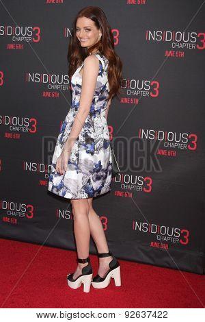 LOS ANGELES - JUN 4:  Lydia Hearst at the