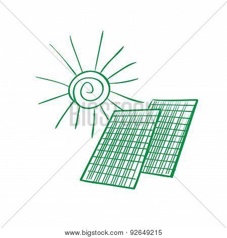 doodle solar panels