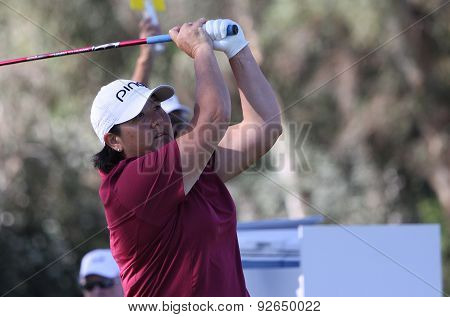 Pat Hurst At The Ana Inspiration Golf Tournament 2015