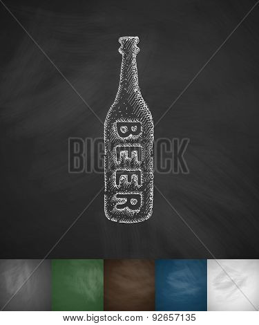 bottle of beer icon