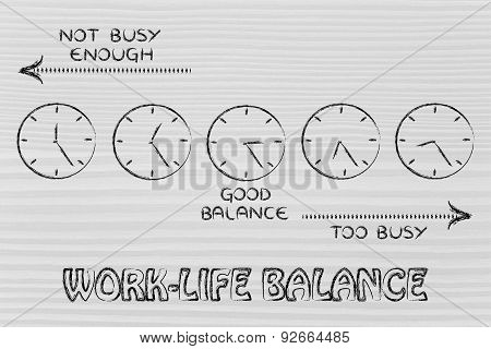 Find A Good Work-life Balance: Too Busy Or Not Enough