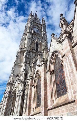 Quito Basilica Tower