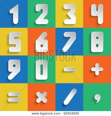Simple Form Numberset