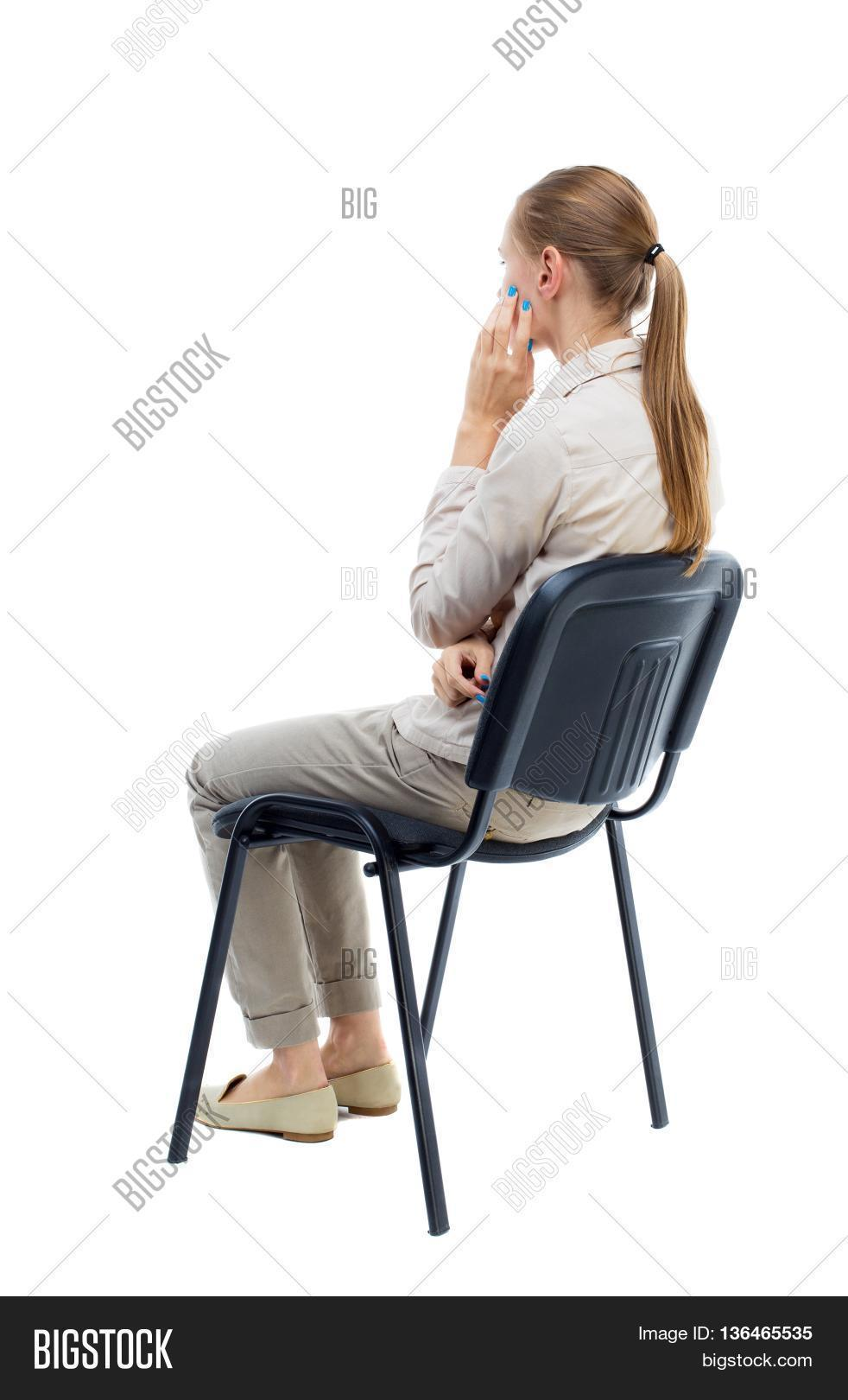 Peachy Back View Young Image Photo Free Trial Bigstock Caraccident5 Cool Chair Designs And Ideas Caraccident5Info