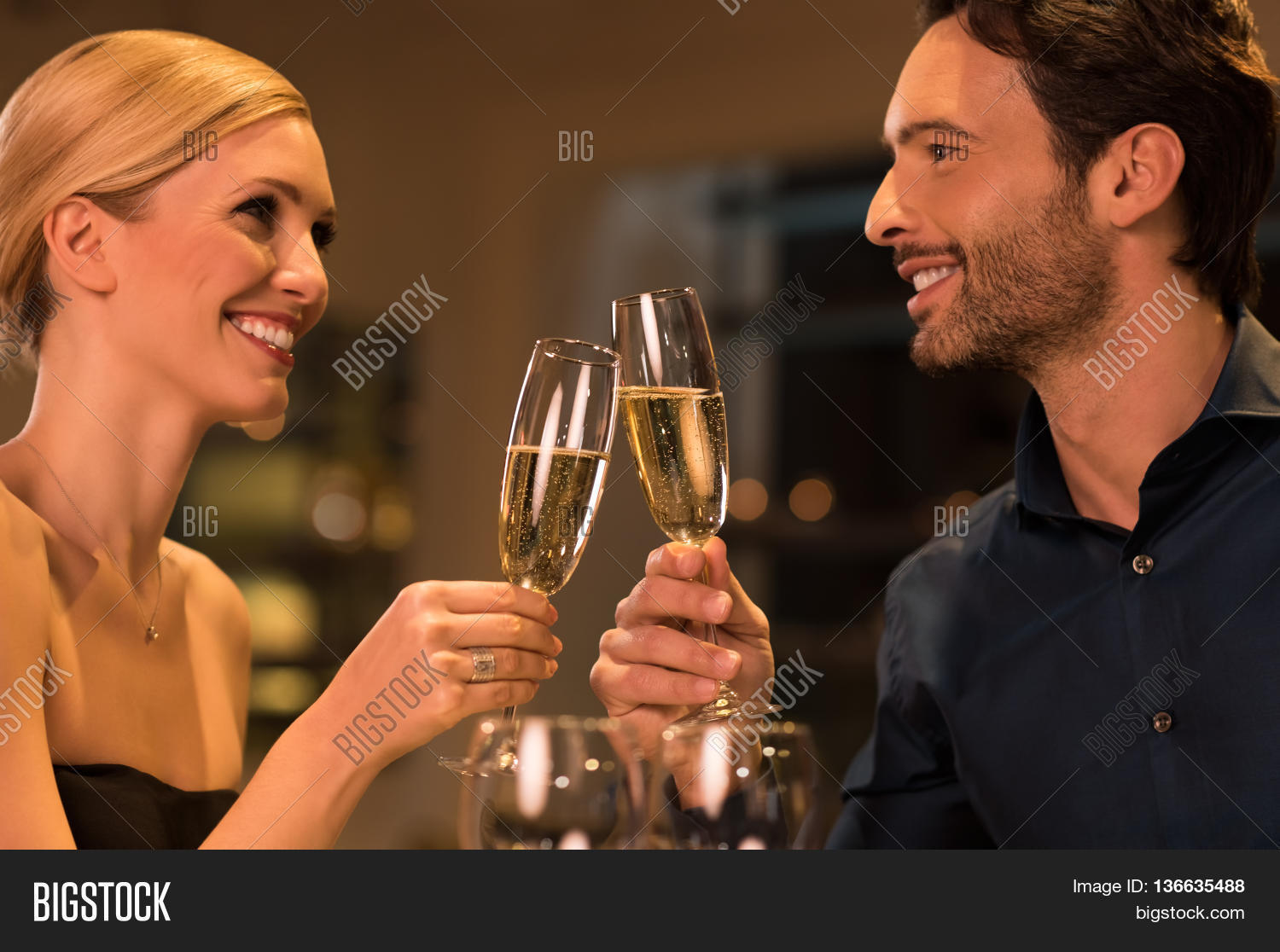Happy Young Couple Image Photo Free Trial Bigstock