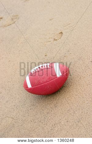 Football On The Beach