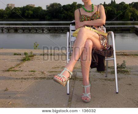 Sexy Girl Relaxing