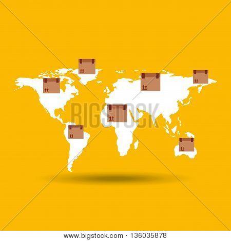 delivery service design, vector illustration eps10 graphic