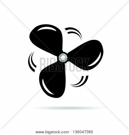 Propeller Icon Rotation Illustration Vector