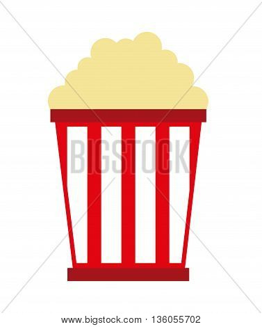 pop corn  isolated icon design, vector illustration  graphic