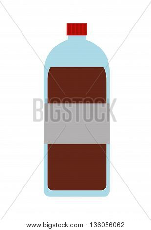 bottle soda isolated icon design, vector illustration  graphic