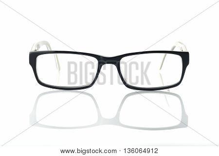 Eyeglasses / High resolution image of eyeglasses on white background shot in studio