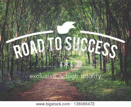 Success Achievement Accomplishment Goal Ability Concept