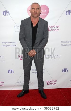 LOS ANGELES - JUN 25:  Dominic Purcell at the Together1Heart Launch Party at the Sofitel Hotel on June 25, 2016 in Los Angeles, CA